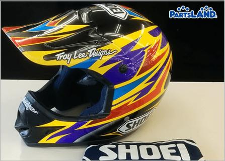 SHOEI VF-X2 オフロードヘルメット デーモンブラッドショー  ガレージオフ 湘南平塚店