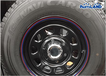 Daytona BLACK 15×6.5J+40 6H-139.7| ガレージオフ 八王子堀之内店