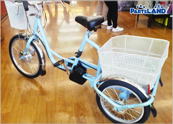 ミムゴ電動アシスト三輪自転車  ガレージオフ 湘南平塚店