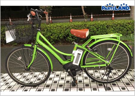 YAMAHA PAS ami ヤマハ パス アミ 電動アシスト自転車 グリーン| ガレージオフ 八王子堀之内店
