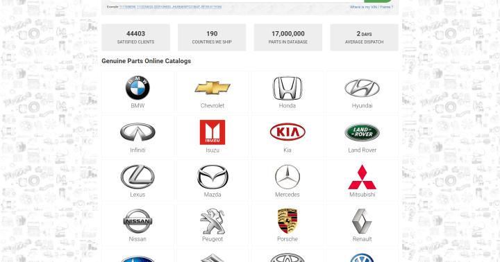 Mitsubishi L200 Oem Parts Catalog
