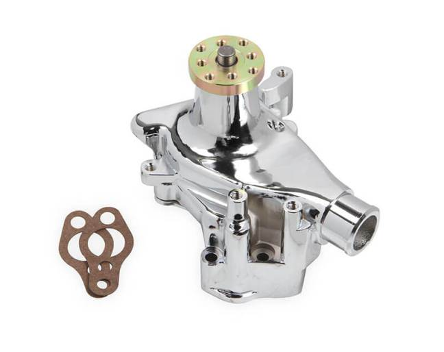 Mr. Gasket: Chrome Aluminum Water Pumps