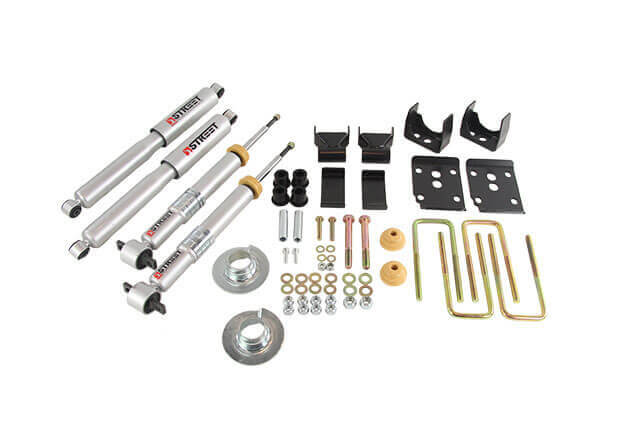 Belltech (6447): Rear Axle Flip Kit for 2015+ Ford F-150