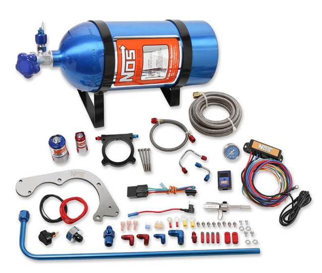 NOS (02125NOS): Complete Nitrous Kit for '11-'17 Ford Coyote