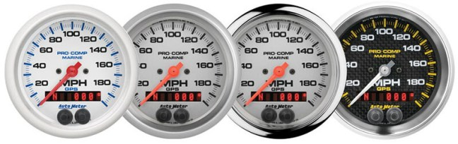 AutoMeter Marine GPS Speedometers