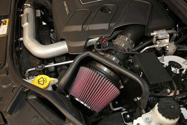 K&N Air Intake System for 14-15 Jeep Grand Cherokee 57-1570