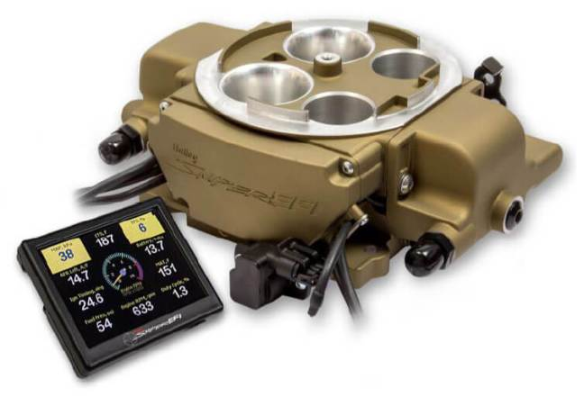 Holley (550-869): Sniper EFI Quadrajet Throttle Body System