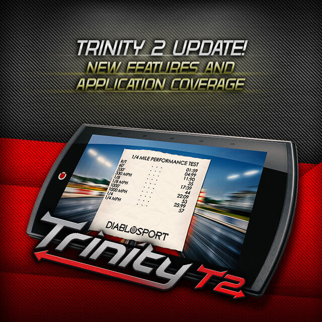 DiabloSport: Trinity 2 Tuner Gets Features and Applications Upgrade with 2.0 Version