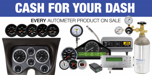 AutoMeter Cash for Your Dash Promotion