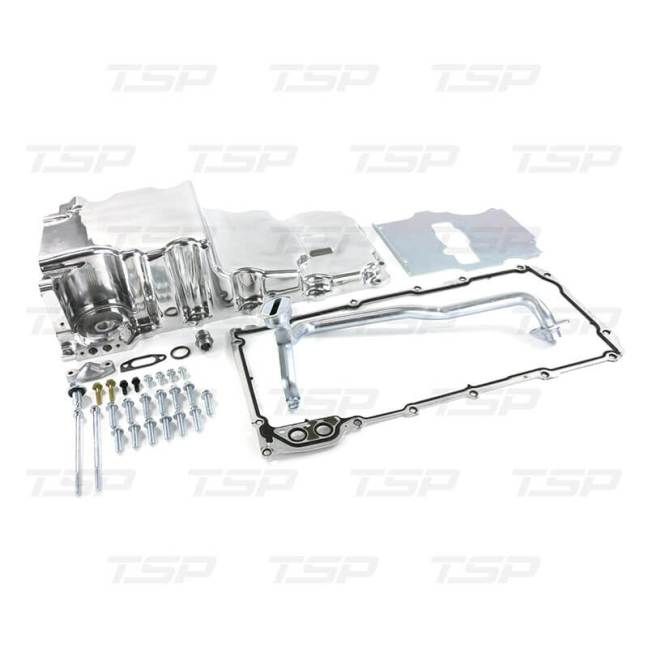 Top Street Performance (81073): Aluminum Rear Sump Low-Profile Retro-Fit LS Oil Pan