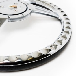 "<strong>Racing Power Company (R5887[BK]): </strong>Avenger Series 14"" Billet Steering Wheel"