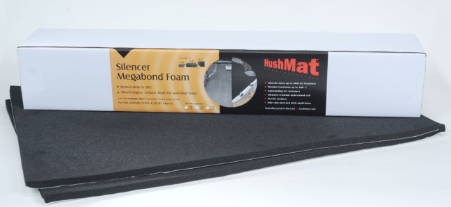 HushMat (20300): Silencer Megabond Foam Under-Carpet Floor Kit