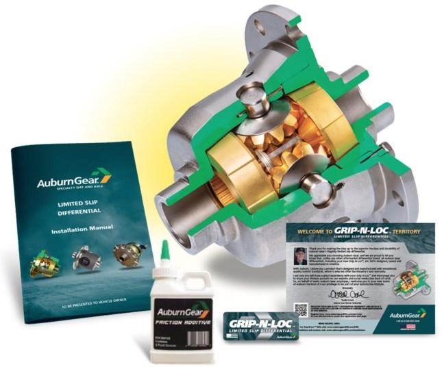 Auburn Gear Grip-N-Loc Limited Slip Differential