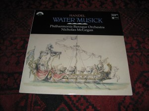 Handel-Water Musik-cover