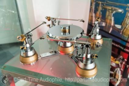 Klimo TAFELRUNDE Turntable (four arms)