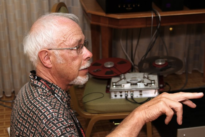 Don't be fooled by that kindly face, King is peddler of heinously-addictive and expensive analog tape wares.