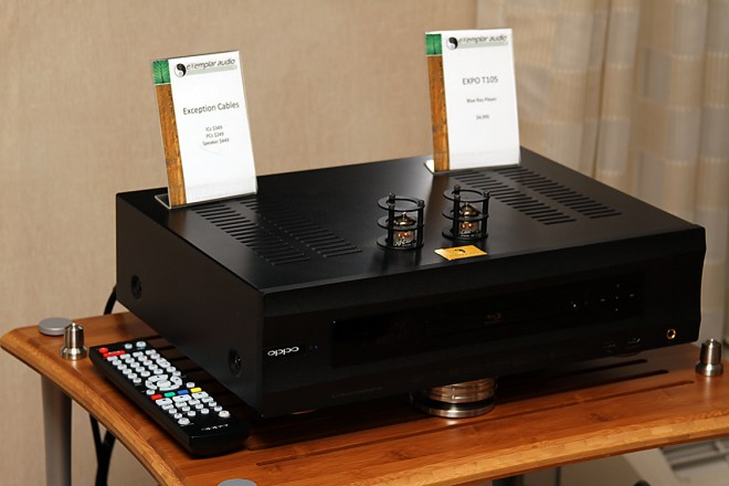 Modified Oppo player