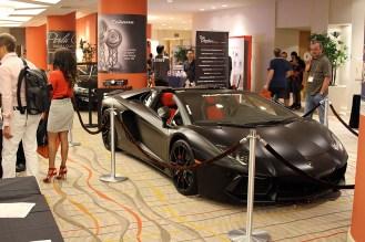 Ground floor exhibits at The Hotel Irvine