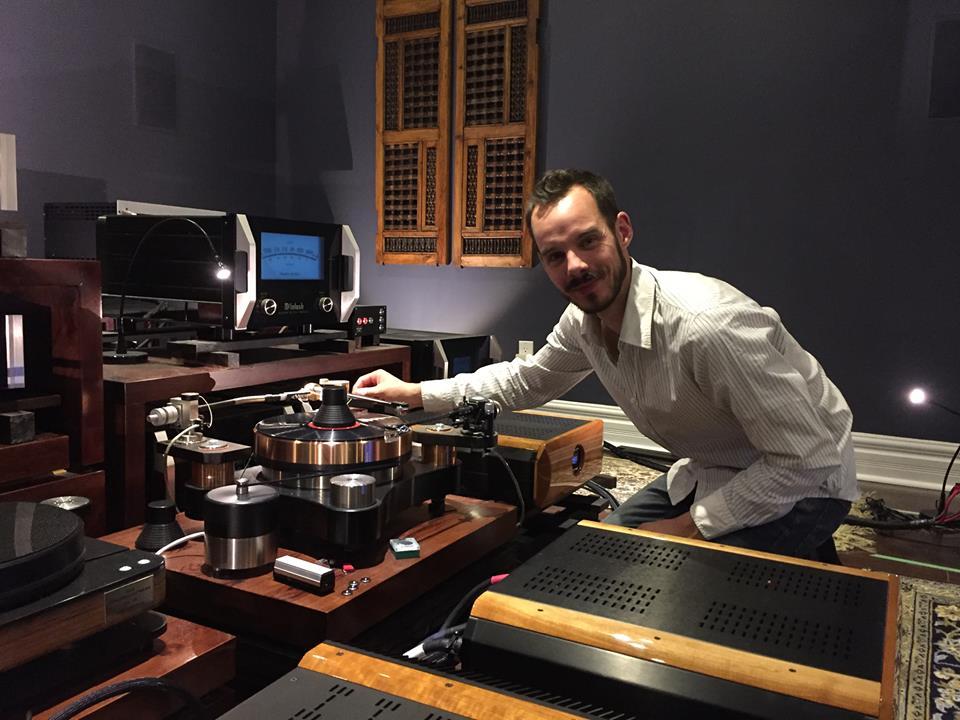 Raphael Pasche of CH Precision