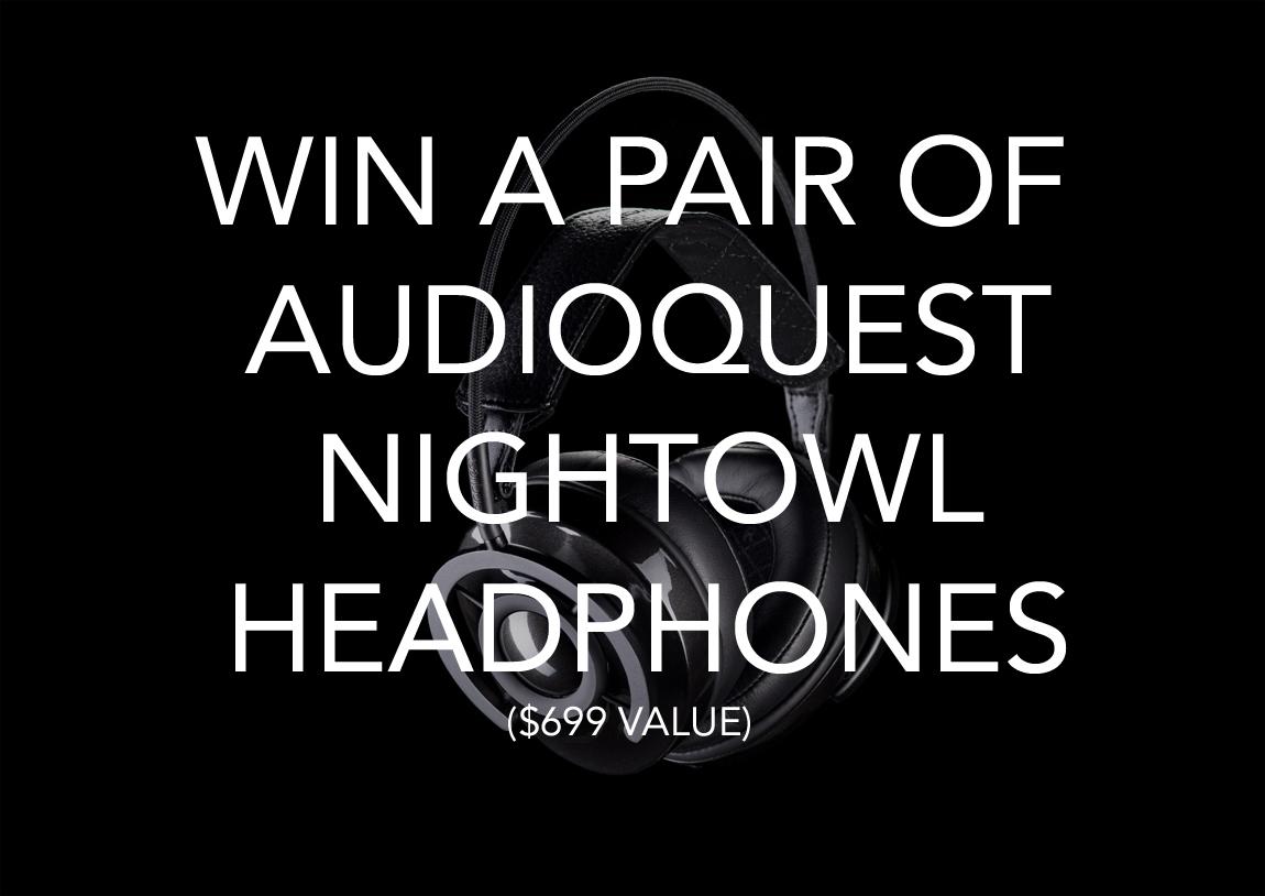 Win a Pair of AudioQuest NightOwl Headphones!