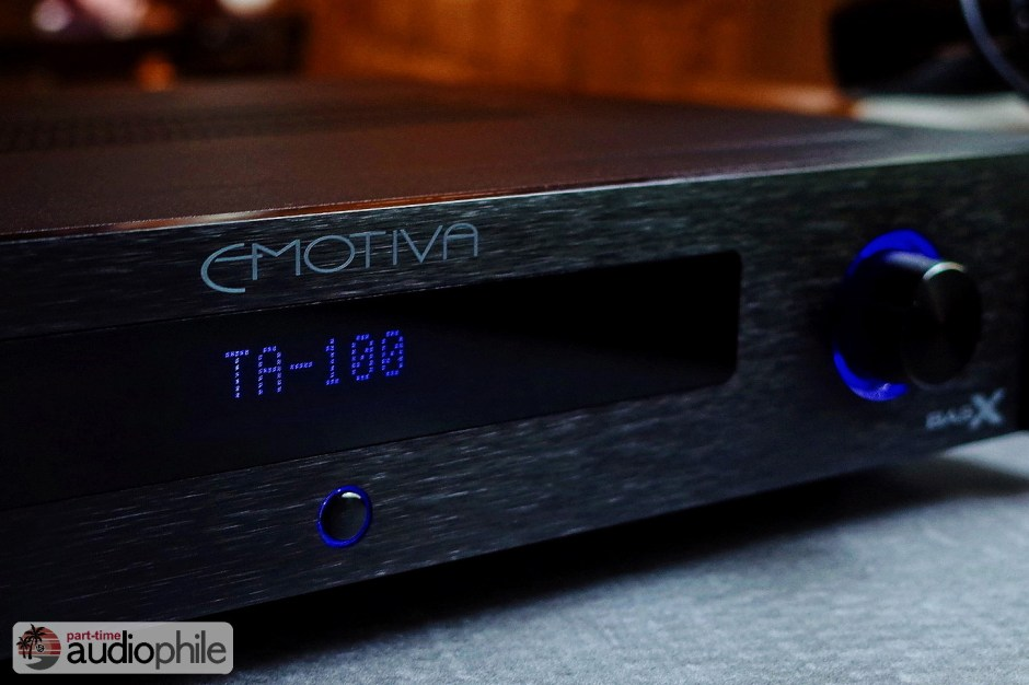 Emotiva TA-100 amplifier