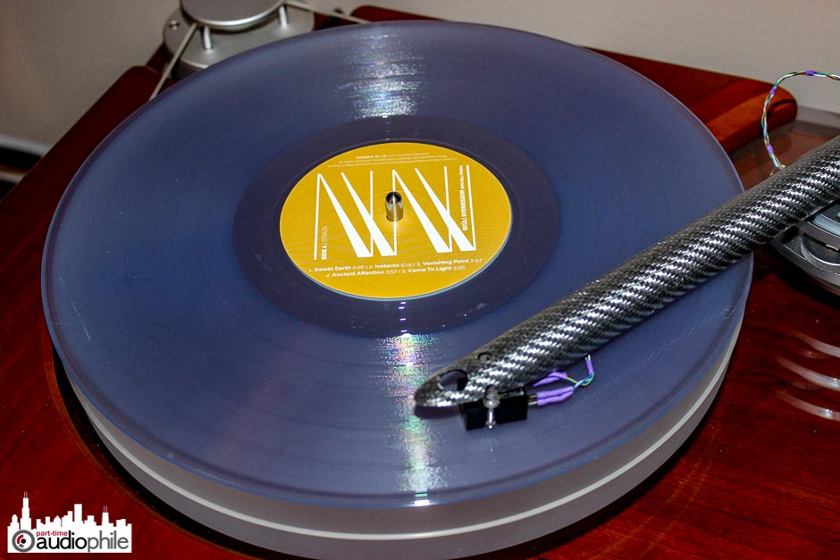 Newvelle Records clear vinyl