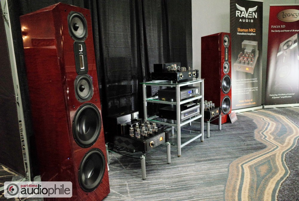RMAF 2018: Legacy Audio and Raven Audio; two to tango