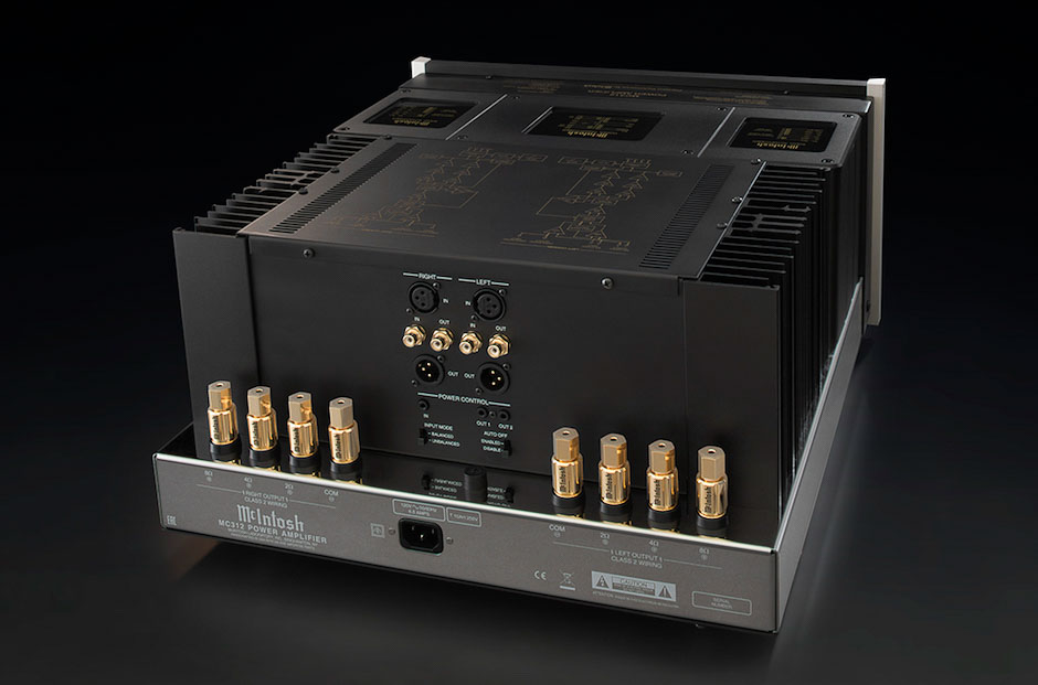 McIntosh MC312 rear