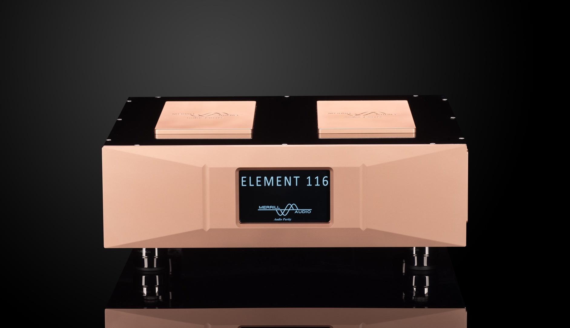 Introducing the Merrill Audio Element 116