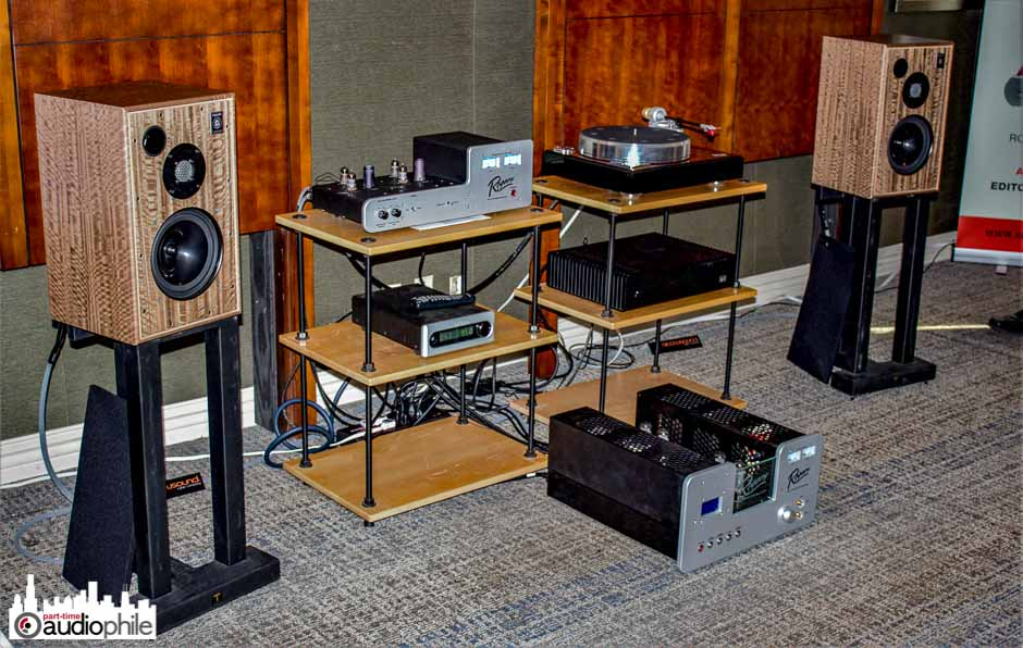 CAF 2018: Harbeth, Rogers Fidelity, Acoustic Signature and the Experiment