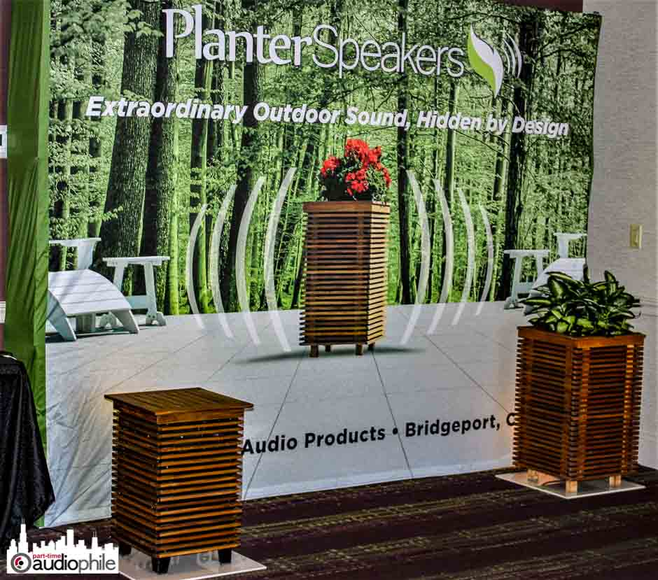 CAF 2018: PlanterSpeakers, So Good You Can Put a Plant In 'Em!