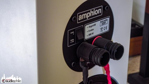Amphion Argon 3S binding posts