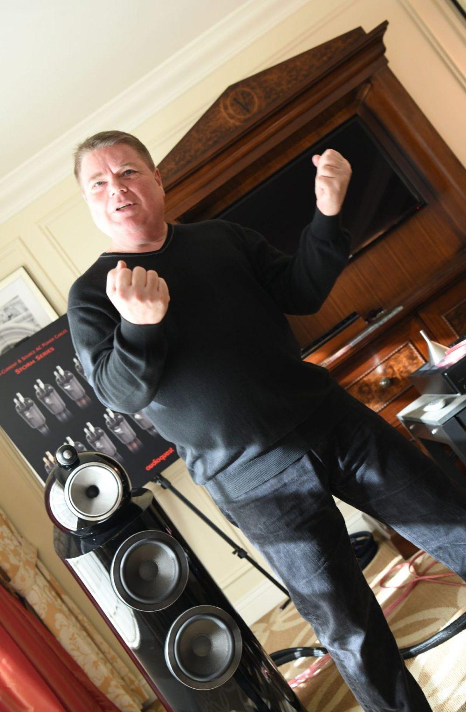 AudioQuest Garth Powell, ready to box