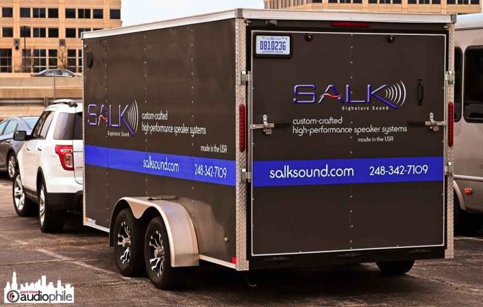 Salk at AXPONA 2019