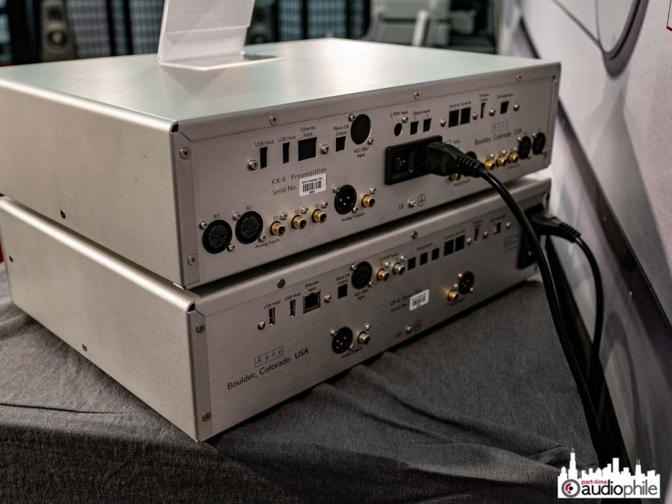 Ayre 8 Series amp, DAC