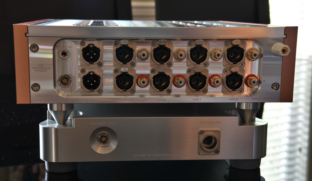 D'Agostino Momentum Phono (rear, complete)