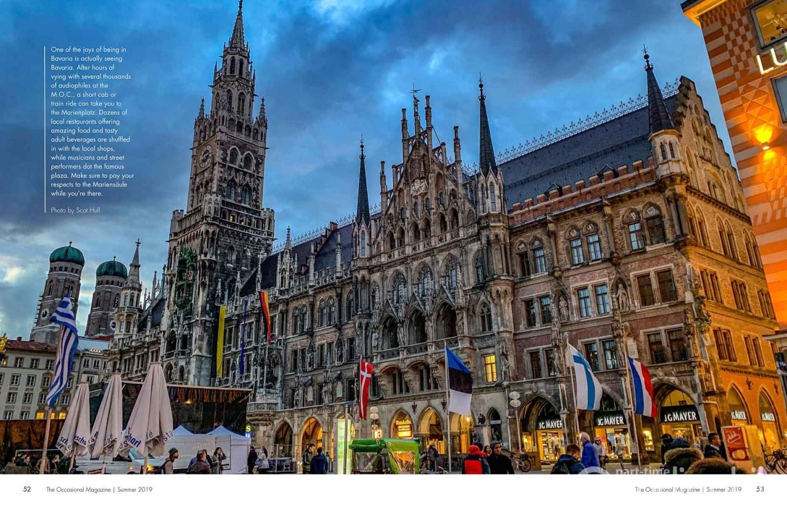Summer 2019 Occasional Munich Marienplatz