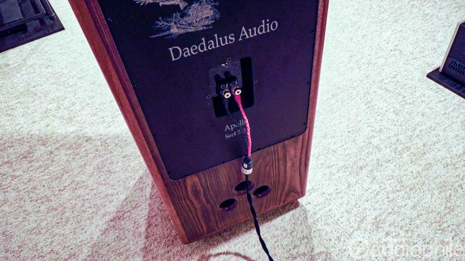 Daedalus Audio Apollo rear panel