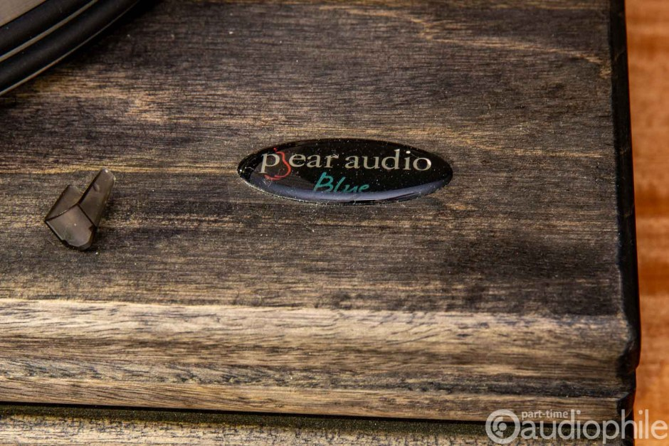 Pear Audio Blue logo sticker