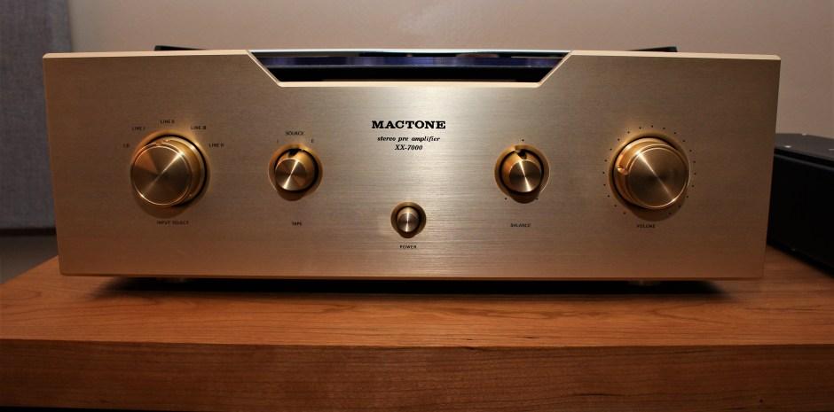 Mactone XX-7000 Preamplifier