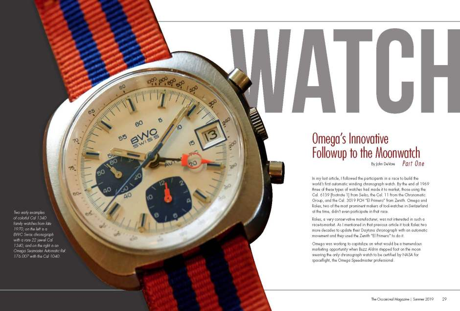 The Occasional Magazine -- Omega Moonwatch