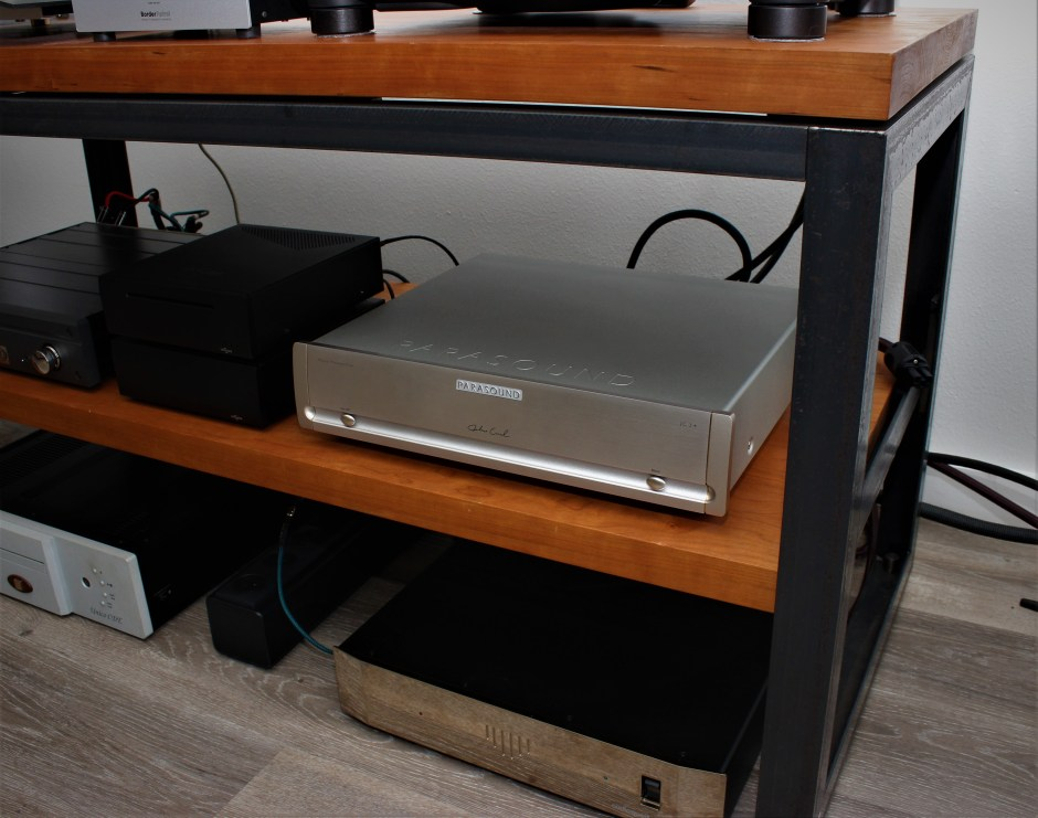 The JC 3+ installed in Marc Phillips' system.