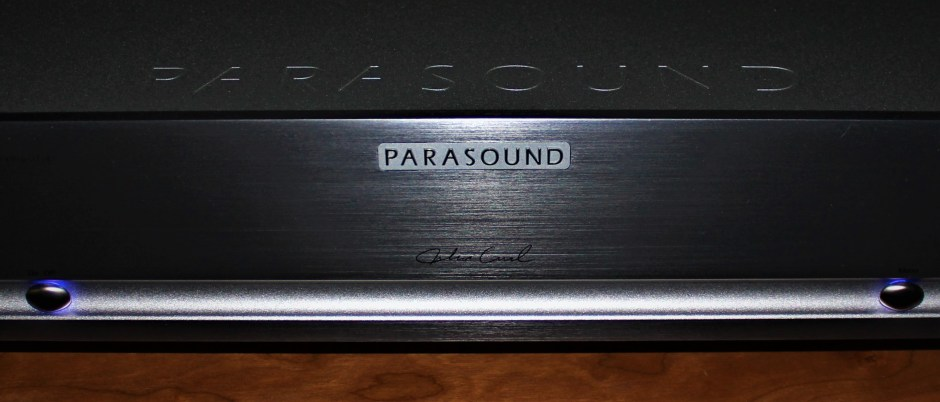 The legendary John Curl's signature on the front faceplate.