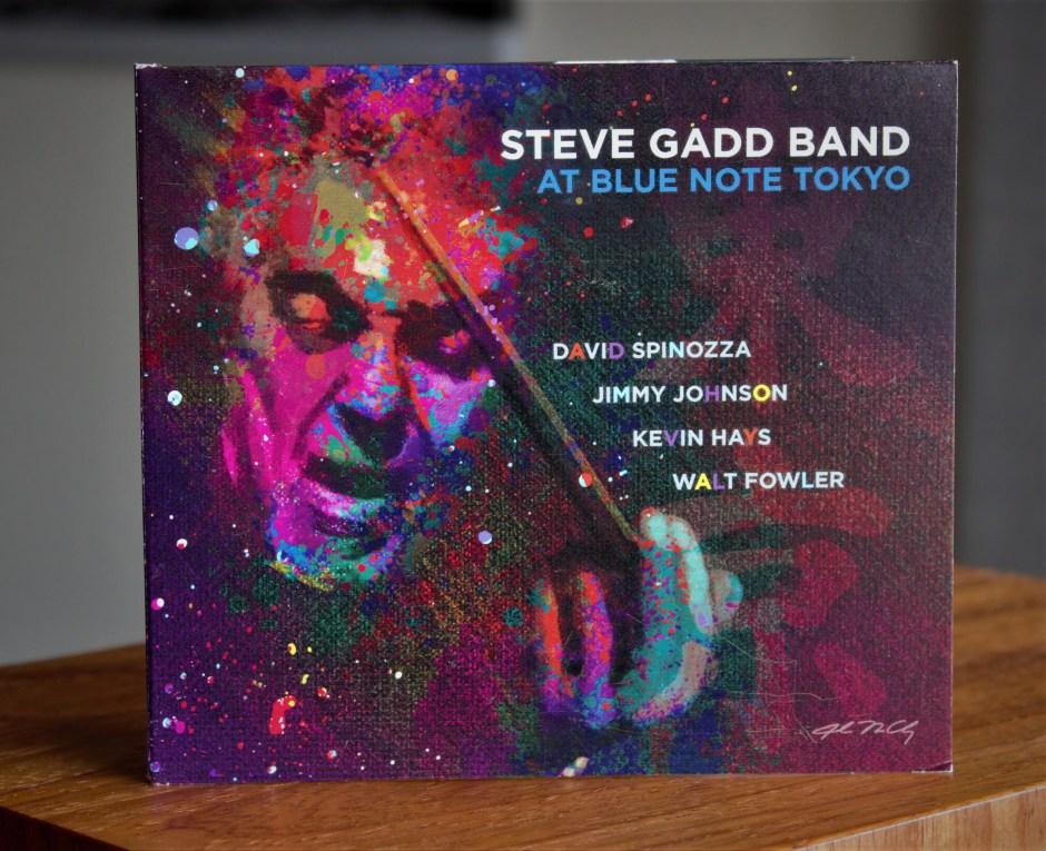 Legendary drummer Steve Gadd's new live album.