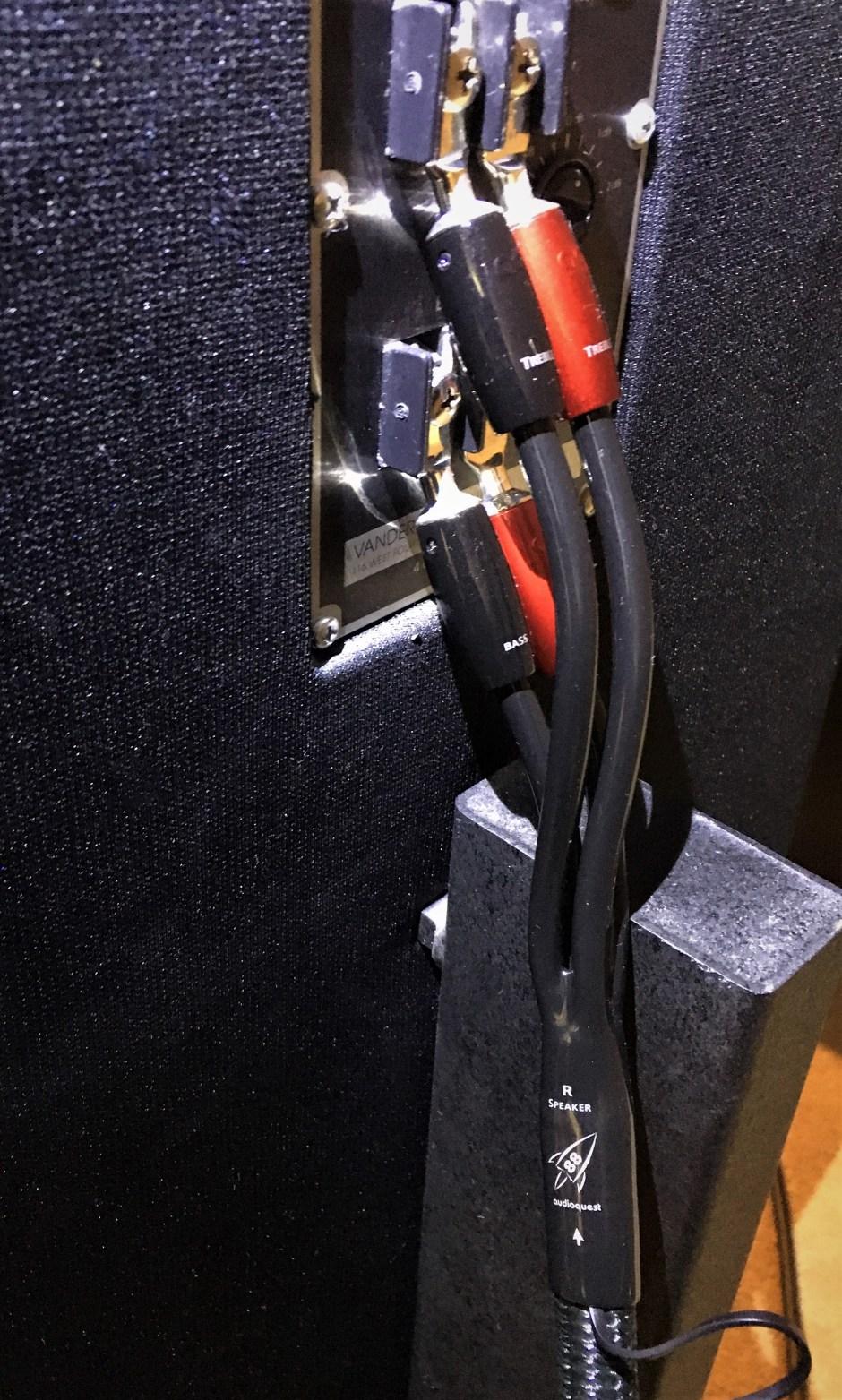 Rocket 88 speaker cable.