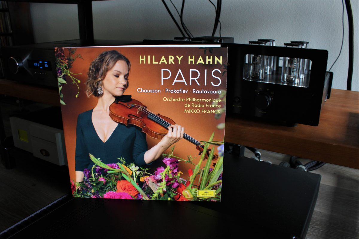Hilary Hahn, Paris | The Vinyl Anachronist