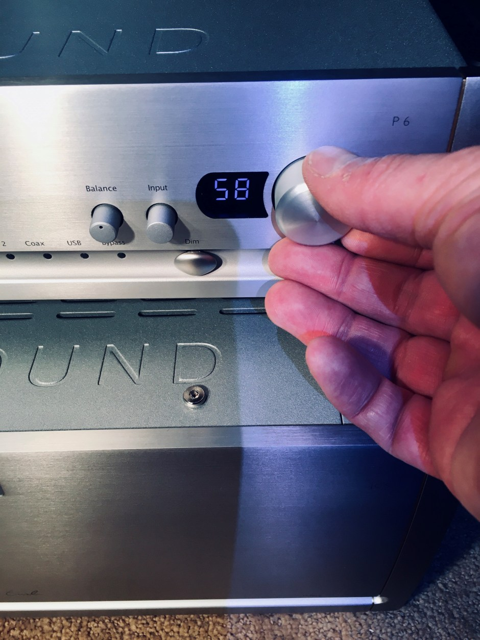Parasound Halo P 6 2-channel preamplifier and DAC.