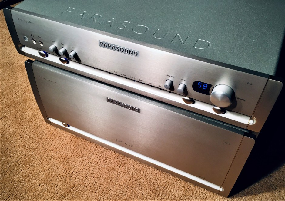 Parasound Halo P 6 and JC 5 amplifiers