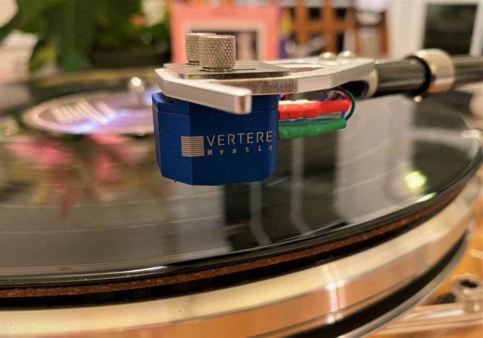 The Vertere Acoustics Mystic cartridge.