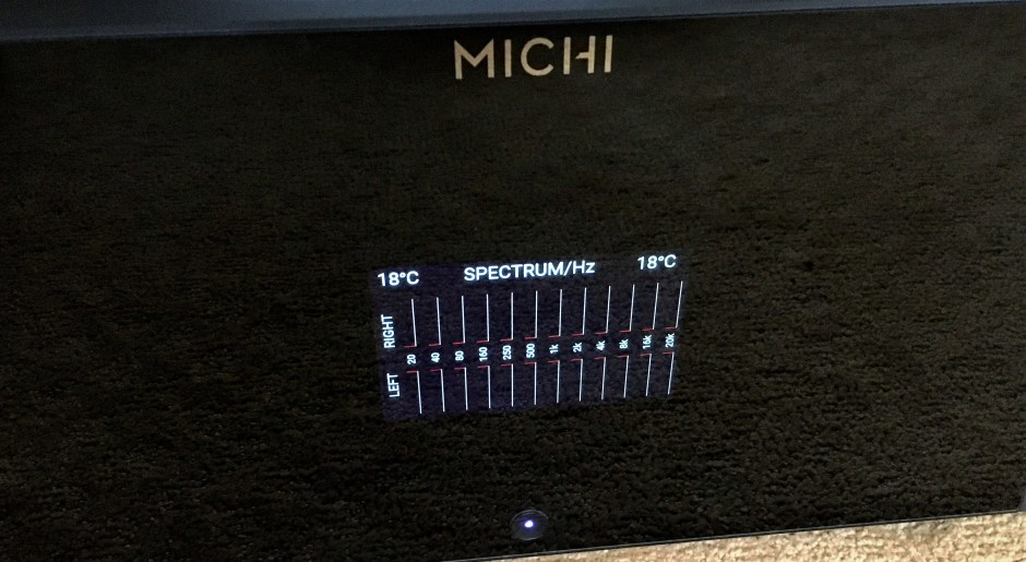 rotel michi s5 front panel